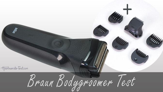 Braun Bodygroomer Test: Braun Rasierer mit Trimmer-Set BT32 im Praxis Test, braun bodygroomer