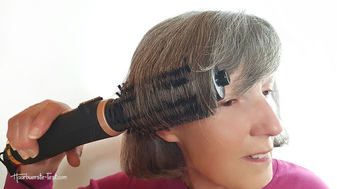 warmluftbürste für kurze Haare