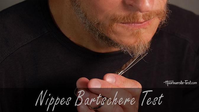 Nippes Bartscheren Test: Die Nippes Bartschere wird in Solingen handgeschmiedet und handgeschliffen. Wie gut schneidet sie im Praxis Test ab?