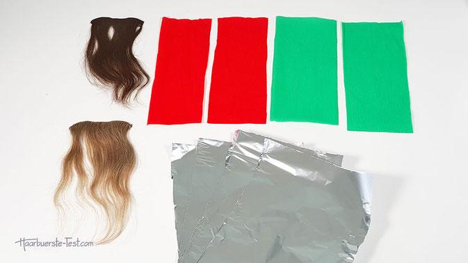 mit krepppapier haare färben, haare färben mit krepppapier anleitung, haare färben krepppapier