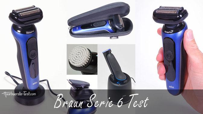 Braun Serie 6 Test: Die neuen Rasierer (2020) im Praxis Test