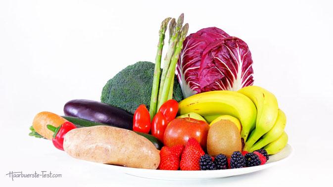 Silizium in Obst und Gemüse