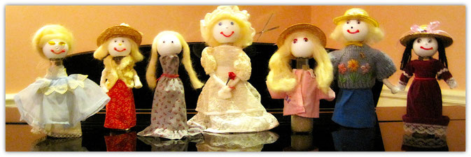 Handmade dolls by Elderfriends