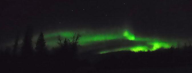 In meiner Silvesternacht gabs Nordlichter statt Feuerwerk