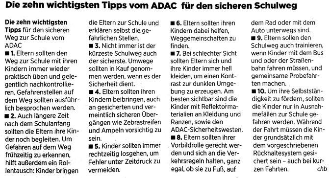Quelle: Göttinger Tageblatt vom 25.Juli 2018