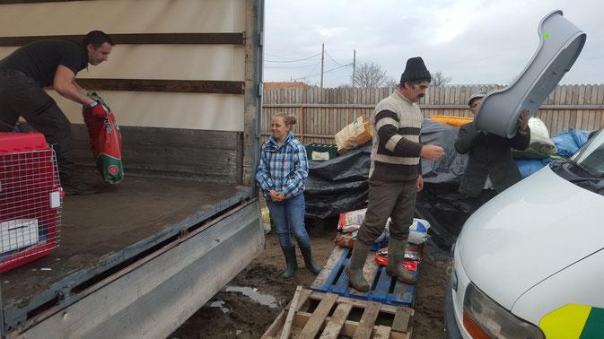 Entladen in Rumänien bei Laura Fincu