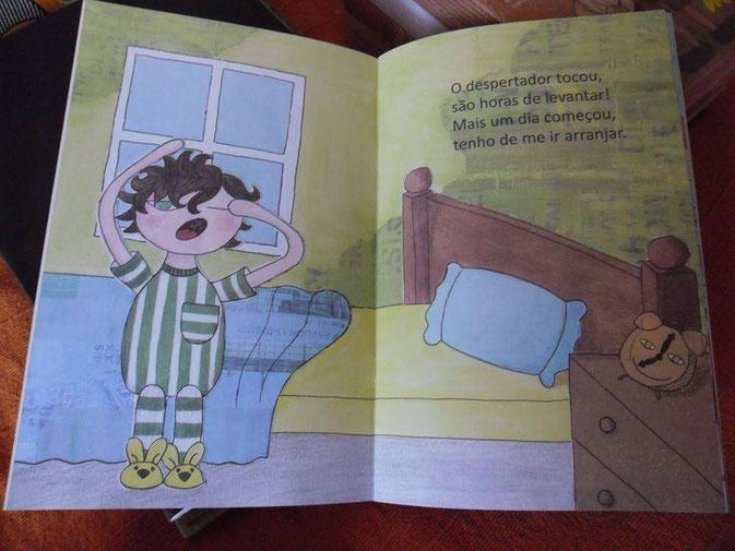 um dia cá dos meus kinderbuch portugiesisch