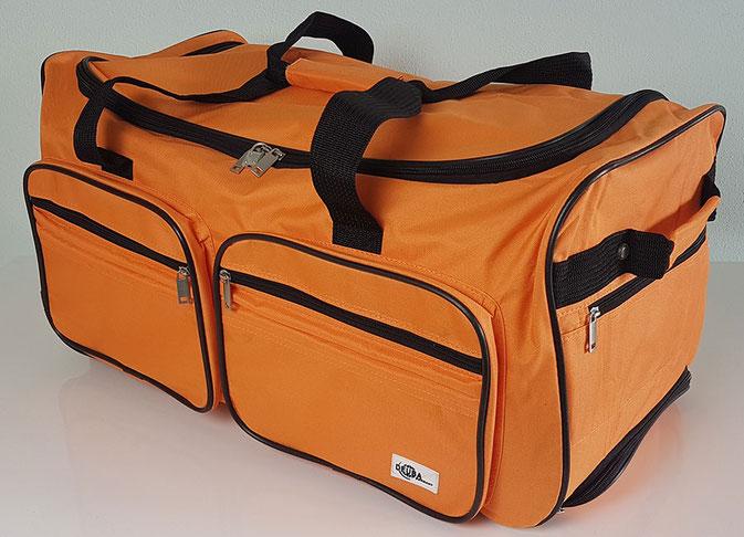 Große Reisetasche mit Rollen, Deuba Reisetasche, Deuba Reisetasche mit Trolleyfunktion, Reisetasche mit Rollen günstig