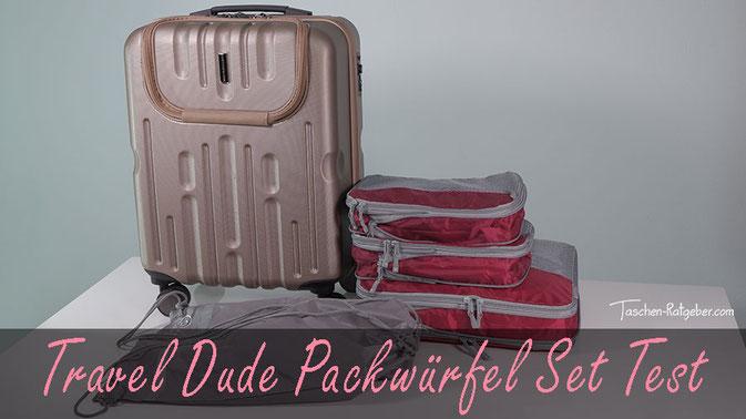 Travel Dude Packwürfel Set mit Kompression, packwürfel set, packwürfel test