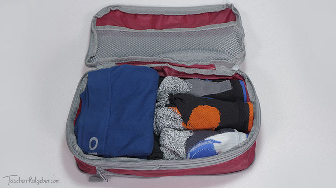 Packwürfel einräumen