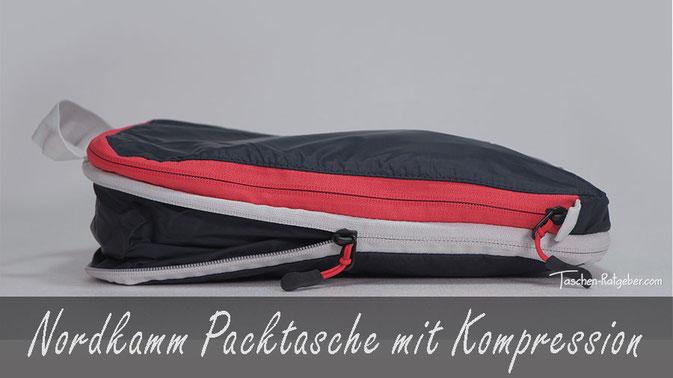 nordkamm packtaschen mit kompression, beste packtasche mit kompression