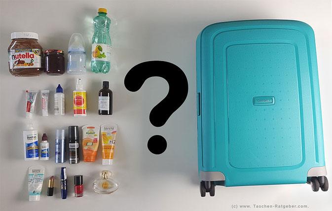 Welche Flüssigkeiten im Handgepäck?