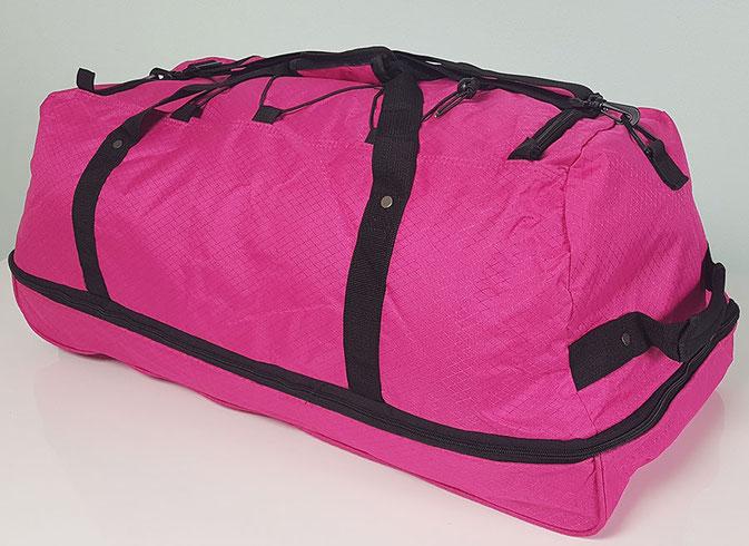 Reisetasche mit Rollen pink, reisetasche mit rollen xxl leicht