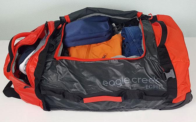 Egle Creek Cargo Hauler, eagle creek hauler duffel, eagle creek cargo hauler 90l