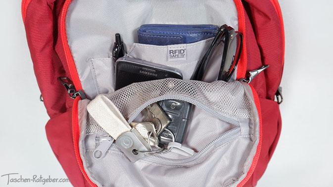 rucksack für städtetrip, kleiner stadtrucksack