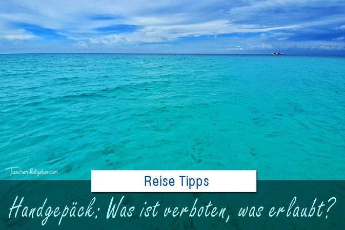 Was darf ins Handgepäck? Was ist verboten und was ist