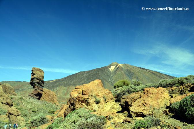 Los Roques und Pico del Teide