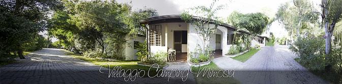 Vista panoramica del Villaggio Mimosa