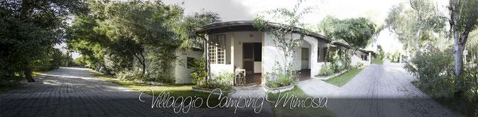 vue panoramique du village touristique Mimosa