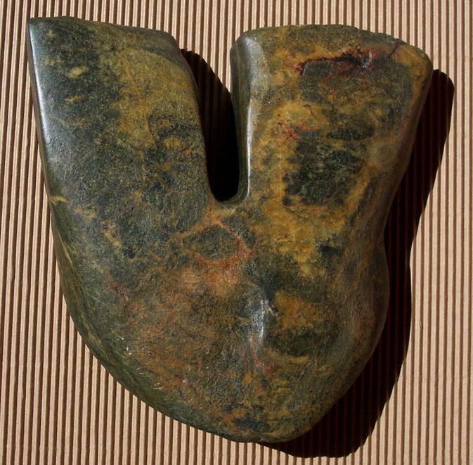 Heidrun Feistner: Selbstbildnis eines Steins / Stein / Foto HF