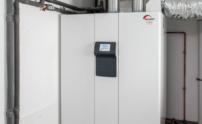 tecalor Luft-Wasser-Wärmepumpe