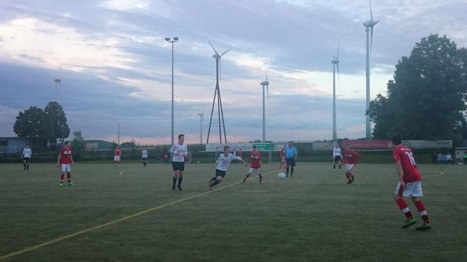 30.05.2016 :  2:1 Niederlage gegen SG Castrop bei der Feldstadtmeisterschaft( Ausrichter Blau-Gelb Schwerin)