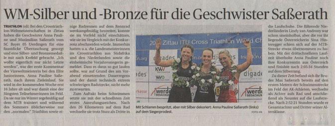 Rheinische Post am 18.08.2014