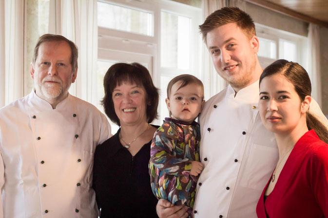 Gastgeber-Familie Wieczorek im Hotel Waldesruh bei Bad Bevensen