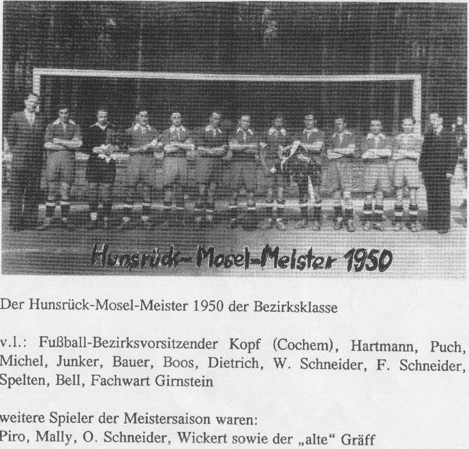 Hunsrück-Mosel-Meister 1950