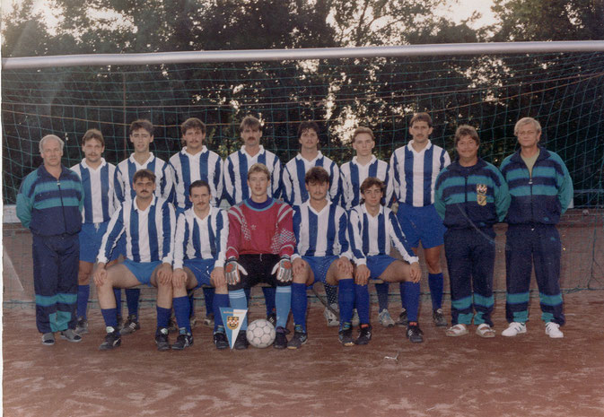 1. Mannschaft 1991/1992