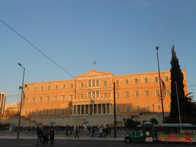 Греция. Афины. Здание парламента.
