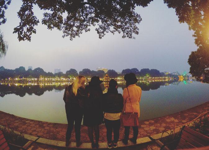 Hoàn Kiếm Lake Hanoi