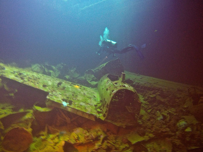 wrecks in micronesia