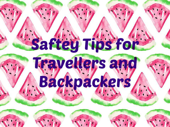 travel safety tips