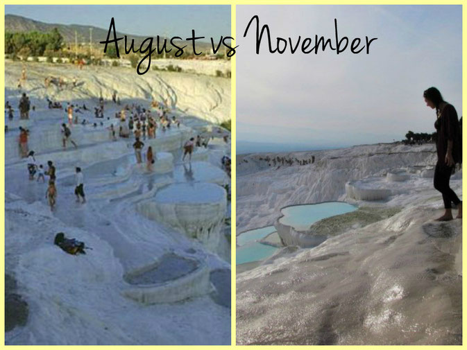 One of the most popular tourist destinations 'Pamukkale'
