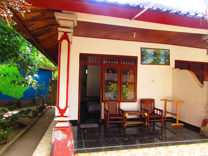 Rooms at dive centre