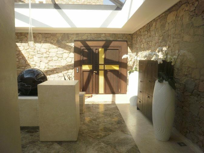 Villa lobby design
