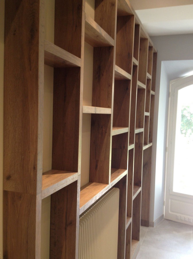 Custom Furniture Bangkok | Shelves