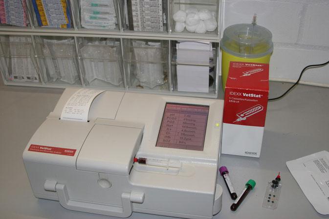 Blutgas- und Elektrolytbestimmung