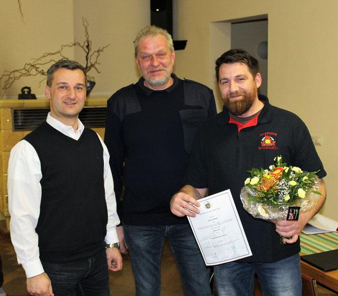 Jahreshauptversammlung der Ortswehr Gettengrün