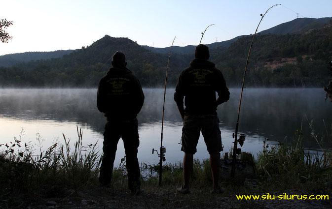 Nebo und Silu in Spanien am Ebro 2015!