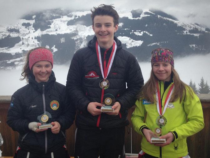 Leana, Joshua, Ann- Kathrin, die glücklichen Speedies von Jochberg