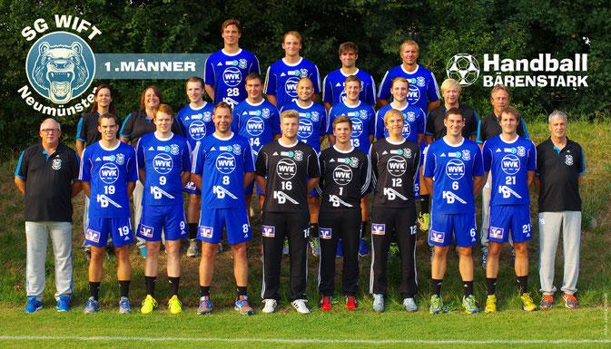 Oberliga 2014/2015: SG Wift 1. Mannschaft, Foto: Jascha Wendt