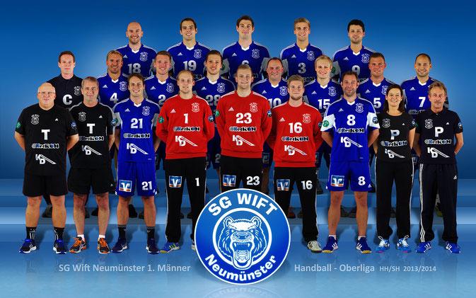 Oberliga 2013/2014: SG Wift 1. Mannschaft