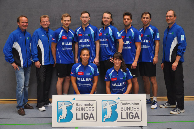 2. Badminton-Bundesliga Nord 2013/2014: Team Blau-Weiß-Wittorf