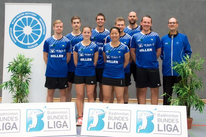 Team Blau-Weiß-Wittorf 2015/2016 2. Bundesliga Nord