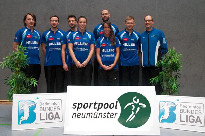 Blau-Weiß-Wittorf 2. Badminton-Bundesliga Nord 2014/2015
