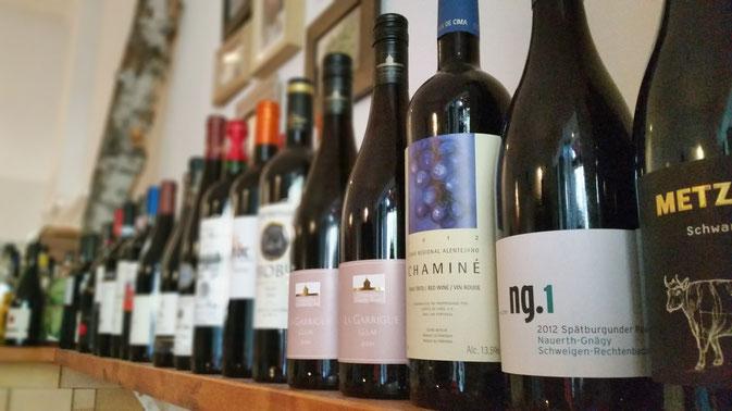 Kleiner Auszug aus unserem Weinsortiment