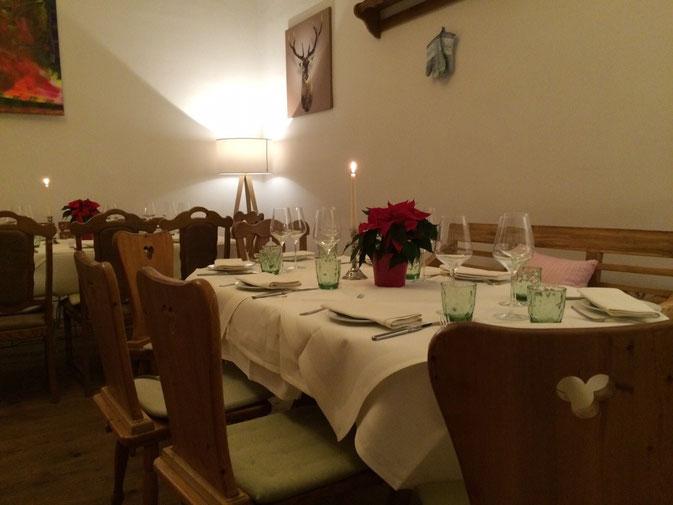 Bei uns können Sie entspannte Abende im Kreise der Familie oder Freunde genießen...