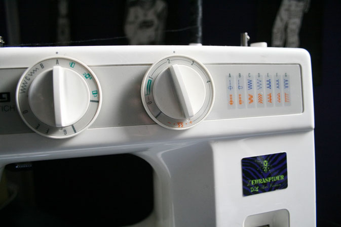 Privileg Super Nutzstich Modell 1510 Einstellung Stiche